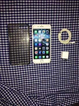 "Vendo o Cambio IPhone 8 Plus Version Gold Rose  De 256GB ( Con Ligero Detalle En Glass "" NO TRIZADO "")"