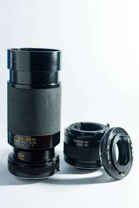 Tamron Adaptall-2 80-210mm f/3.8-4 (2x)