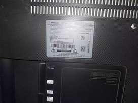 "TV Samsung 50"" UHD pantalla quemada"