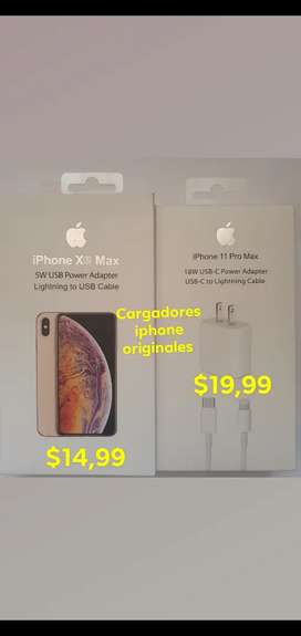 Cargadores iphone originales EN PUYO