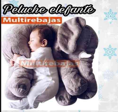 Almohada Gigante Elefante Antiacaros Para Bebe 0