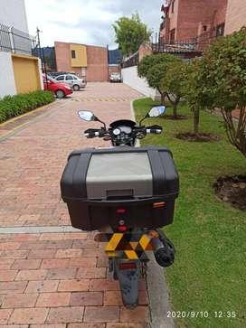 Moto en perfectas condiciones