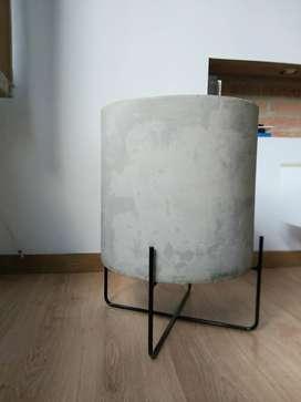 Matera en cemento + base