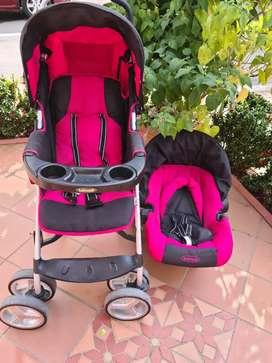 Coche Bebesit ultraliviano con silla para carro