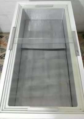 Congelador panoramico con bodega