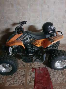 vendo impecable  cuatriciclo