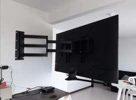 Se venden e instalan soportes para TV Led, Lcd y plasma