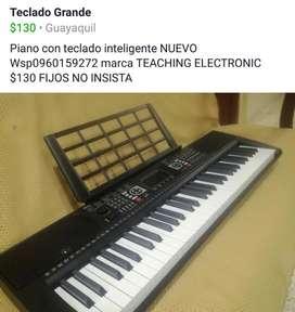 Teclado Organo Piano Y Pedestal