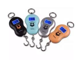 Balanza electrónica Digital Portátil para pesar equipaje hasta 50 kg