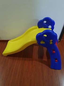 Rodadero Resbalador Montable en Plástico para Niñas Y Niños