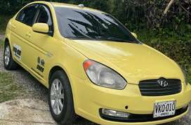 Taxi Hyunday Vicion 2011 afiliado radio taxi