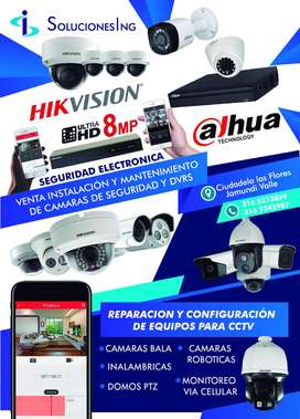 4 CÁMARAS, TIPO DOMO O BALA MARCA HIKVISION TURBO HD 1080P 2MP SANTANDER DE QUILICHAO CALI Y JAMUNDI