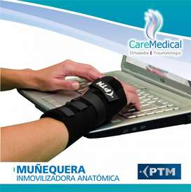 Muñequera Inmovilizadora Anatomica PTM 01.01.M7 Ortopedia Care Medical