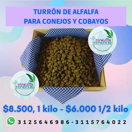 Turrón de Alfalfa