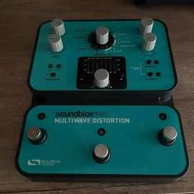 pedal multiwave distorsión