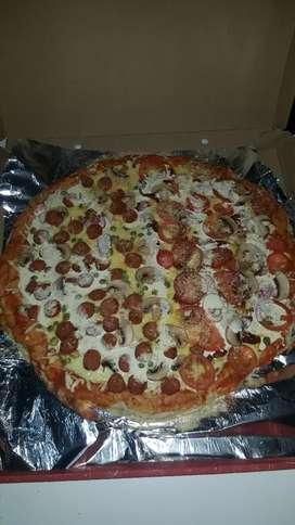 Estoy buscando empleo como preparador de comidas rapidas o pizzeria tengo experiencia en asadero de carnes
