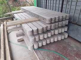 Venta de postes de concreto para cerca de alambre