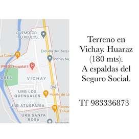 Terreno en Vichay Huaraz
