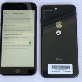 Iphone 8 plus 64 - libre - perfecto