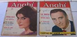 Revistas Anahi Año 1961 Dora Baret Ernesto Bianco Favio