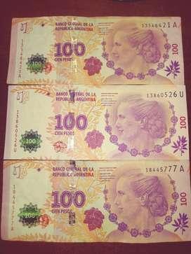 Billetes Evita