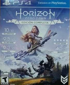 Horizon Zero Dawn Completa Ps4 Fisico.