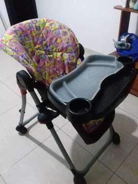 Silla de comedor para bebe