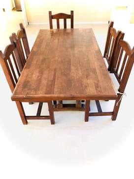 Mesa + 5 sillas