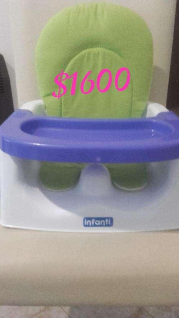 silla de comer empotrable a silla poco uso 0