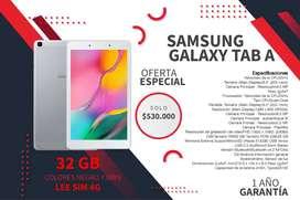 Oferta tablet samsung galaxy tab A plateado y color negro NUEVO y SELLADO 4G LTE