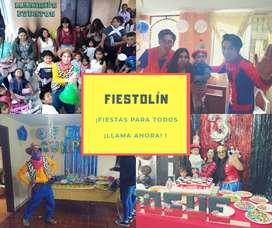"""ANIMACIONES INFANTILES """"FIESTOLÍN"""" ANIMACIONES EN IMBABURA"""
