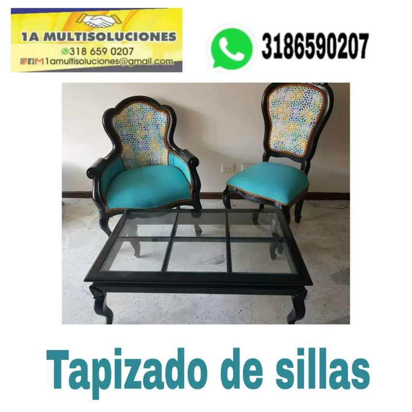 Tapizados cali, de todo tipo de sillas y mubles en general 0