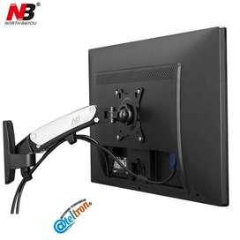Soportes bases NB Tv led lcd 17-27 sistema neumático libre elevación