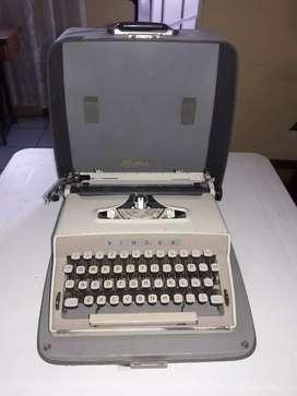 Máquina de escribir SINGER en perfecto estado de funcionamiento precio Negociable