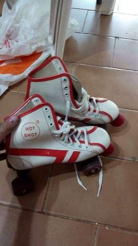 Vendo patines artisticos de fines de los 80s