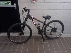 Bicicleta GW Aligator - Negro Rojo Rin 27.5 #6W10140628 (Perfectas condiciones)