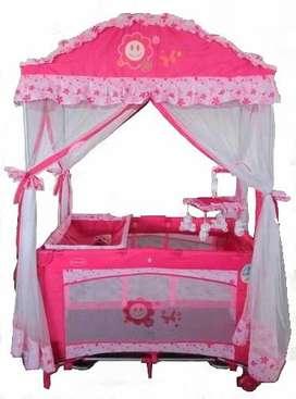 Cuna Corral Modelo Princesa Y Principe Arabe Para Bebe Nuevo
