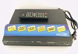 Reproductor Dvd Kalley usb rca