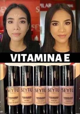 Maquillaje resistente al agua y cobertura total