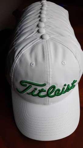 gorras de golf titleist  hombre y mujer