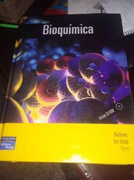 Bioquímica libro tapa dura, en buen estado, económico