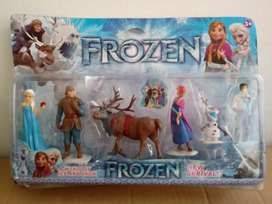 Set de 6 Personajes de Frozen