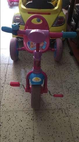 Triciclo frozen !!