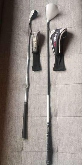 Golf Un Driver  TPS y un híbrido Titleist Usados