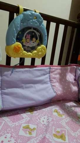Juguete para la hora  de dormir bebe, con  proyector