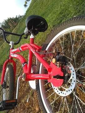 Bicicleta GW Lancer 032 roja