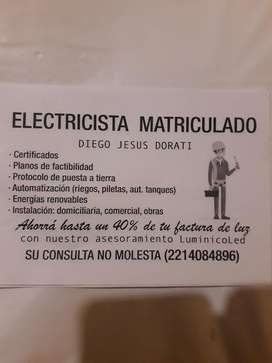Electricista Matriculado Lp - City Bell
