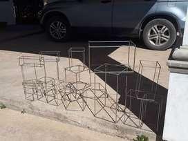 Cubos metal p vidrieras