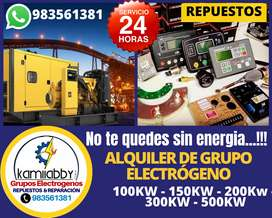 Alquiler de Grupos electrogenos 100KW-200KW-300KW-500KW