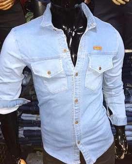 Camisas de jeans slim fit